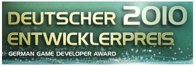 Deutscher Entwicklerpreis 2010